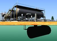 Model Studio CS позволяет проектировать как наземные, так и подземные установки