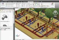 Рис. 3. Экспорт трубопроводов из Model Studio CS в программу Изоляция