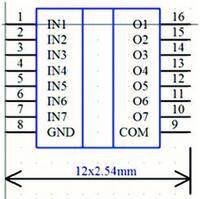 Рис. 10. Редактированное УГО микросхемы ULN2003