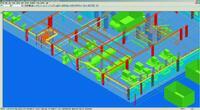 Рис. 12. Просмотр конструкций и кабелей в SP3D