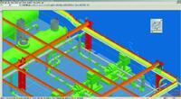 Рис. 13. Просмотр конструкций и кабелей в SP3D