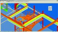 Рис. 14. Просмотр конструкций и кабелей в SP3D