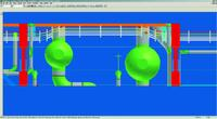 Рис. 15. Просмотр конструкций и кабелей в SP3D