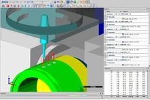 Моделирование процесса обработки на компьютерной модели станка