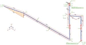 Рис. 4. Изометрический чертеж, выполненный по СТП