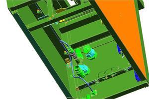 Рис. 7. 30-моделирование монтажа бортового электрического жгута (NXRouting Electrical)