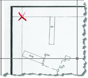 Рис. 2. Результат применения коррекции по четырем точкам