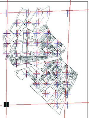 Рис. 9. Задание измеренных и реальных точек для калибровки