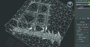 Рис. 4. Триангулируем поверхность модификатором Tesselate