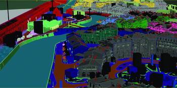 Изображение до применения рендера. Исходный файл в Autodesk 3ds Max