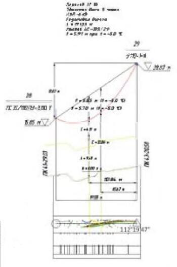 Рис. 12. Пример автоматического оформления перехода в Model Studio CS ЛЭП
