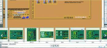 Рис. 6а. Быстрый просмотр листов в AutoCAD