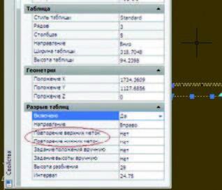 Рис. 9. Колонтитулы в AutoCAD (a) и nanoCAD (b): два против шести