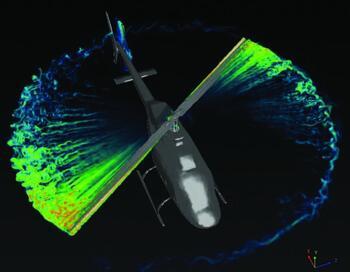 Аэродинамический расчет несущего и хвостового винтов вертолета