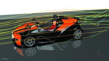 Аэродинамический расчет кузова спортивного автомобиля