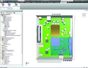 Интеграция Autodesk Inventor и Autodesk Simulation CFD. Команды для запуска Autodesk Simulation CFD располагаются на отдельной вкладке, размещенной на ленте. Также Autodesk Simulation CFD можно запустить с помощью контекстного меню