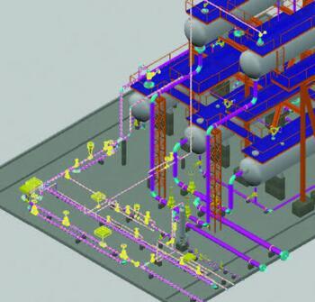 Экспорт 3D-модели в программу Гидросистема