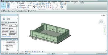 3D-модель Revit Structure 2012