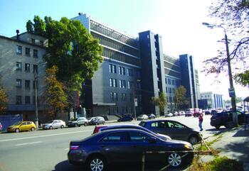 Рис. 8. Общий вид здания после надстройки дополнительных этажей