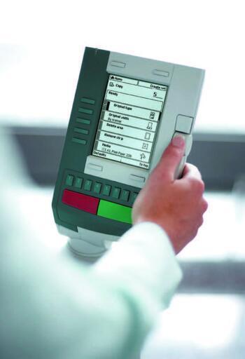 Панель управления Oce TDS400/450