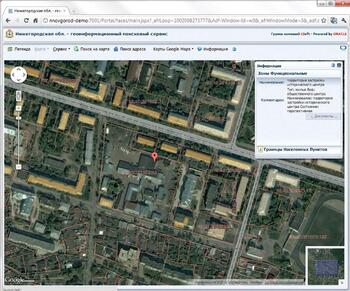 Интеграция CS UrbanView с сервисами Google Maps и Google Earth