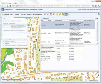 Работа с правоустанавливающими документами ИСОГД в CS UrbanView