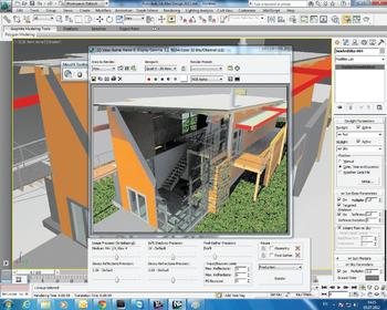 Autodesk Revit в Autodesk 3ds Max Design. Рендеринг импортированной модели без ее дополнительной обработки