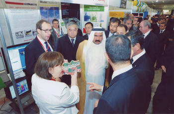 Наши гости. Чрезвычайный и Полномочный Посол Объединенных Арабских Эмиратов в Туркменистане