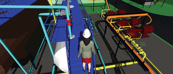 Рис. 6. Проверка модели средствами ПО Autodesk Navisworks Manage