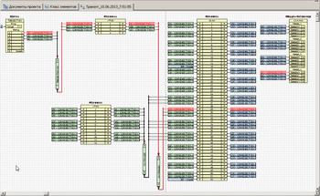 Рис. 10. Транзитная цепочка прохождения сигнала от датчика после внесения изменений