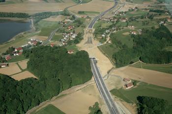 Туннель в районе поселка Мочна