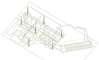 Исходные данные для расчета ЭМО в 3D-виде