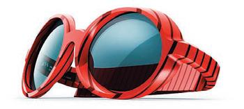 Очки, созданные Роном Арадом для PQ Eyewear с использованием 3D-печати