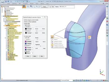 Рис. 1. ЗАМЫСЕЛ: в Solid Edge имеется полнофункциональный набор инструментов гибридного 2D/3D-моделирования, помогающих создавать изделия сложной формы и изделия, получаемые механической обработкой