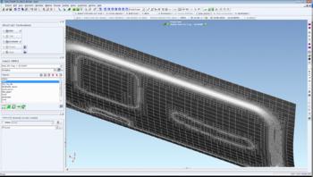 Переразбиение сетки конечных элементов на первых шагах моделирования технологического процесса