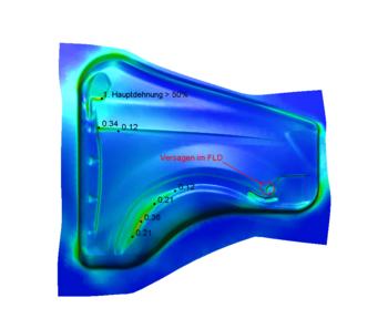 Визуализация получаемого изделия в результате моделирования технологического процесса