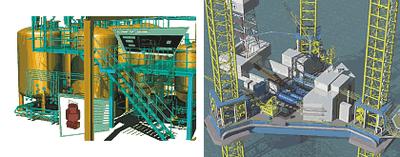 Визуализации 3D-модели систем, конструкций и объектов, создаваемых в Plant-4D, хоть и производят неизгладимое впечатление на заказчиков, но с точки зрения инженеров-конструкторов не являются целью работы