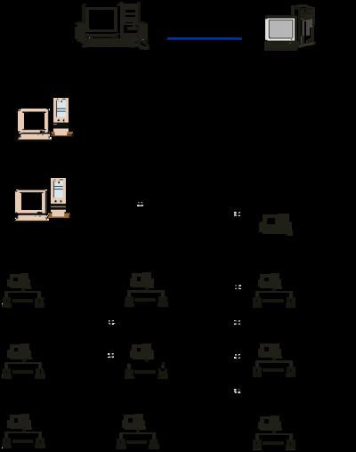 Рис. 2. Компьютерная сеть инженерно-строительного факультета СПбГТУ