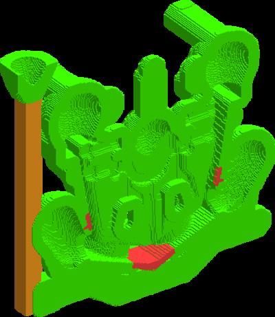 Рис. 8. Облицовка формы и стояк из шамота, а также холодильники