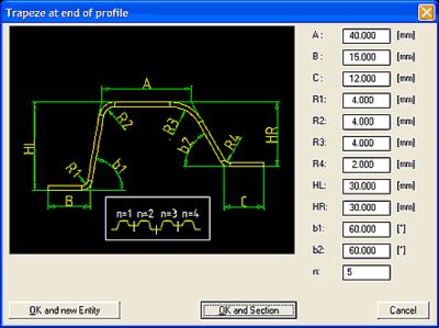В COPRA Rollform предусмотрено множество утилит для автоматизации трех уровней процесса проектирования