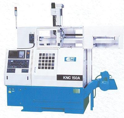 Станок с ЧПУ, роботом и противошпинделем KNС 150 A