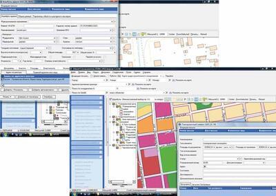 Пример визуализации информации по объекту капитального строительства совместно с информацией по зонированию (программное средство UrbaniCS)
