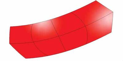 Отражающая поверхность антенны в форме параболоида