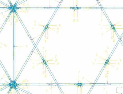 Фрагмент динамической модели после введения всех связей и ограничений