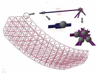 Вид расчетной модели в Adams