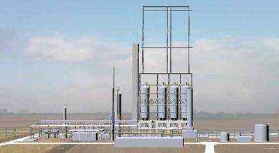 Проект нефтехимической установки (разработчик – компания QPS Engineering)