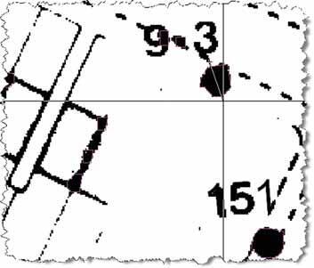 Рис. 2. Определение максимального размера элемента