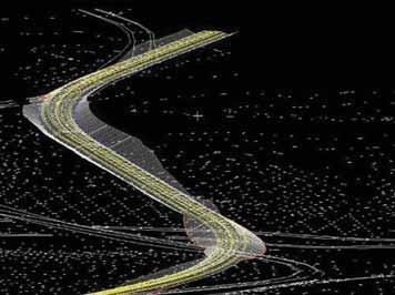 3D-модель проектируемых железнодорожных путей