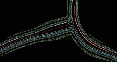 Примыкание автодороги