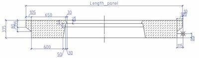 Рис. 4. Эскиз для стеновой панели